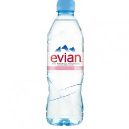 Evian 24 x 330ml Pet