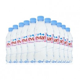 Evian 24 x 500ml Pet