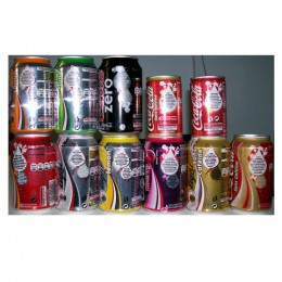 Coke/Diet/Zero/Cherry cans