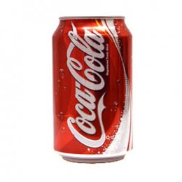 Coke cans 24 x 330ml (Irish)