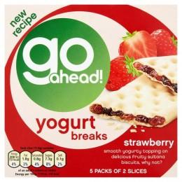 McVitie's Go Ahead Yoghurt Breaks - Strawberry