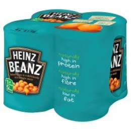 Heinz Baked Beans 4 Pack