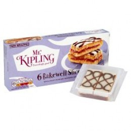 Mr Kipling Bakewell Slices 6 Pack
