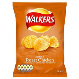 Walkers Roast Chicken Crisps