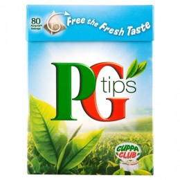 PG Tips Teabags 80's